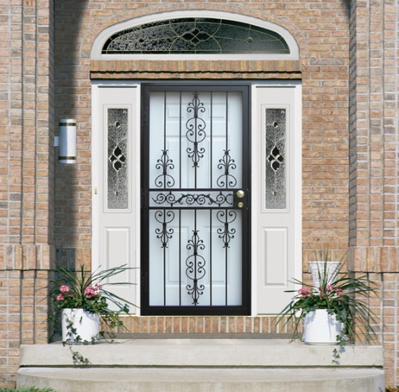 Security Storm Doors steel security storm doors philadelphia | guida door & window