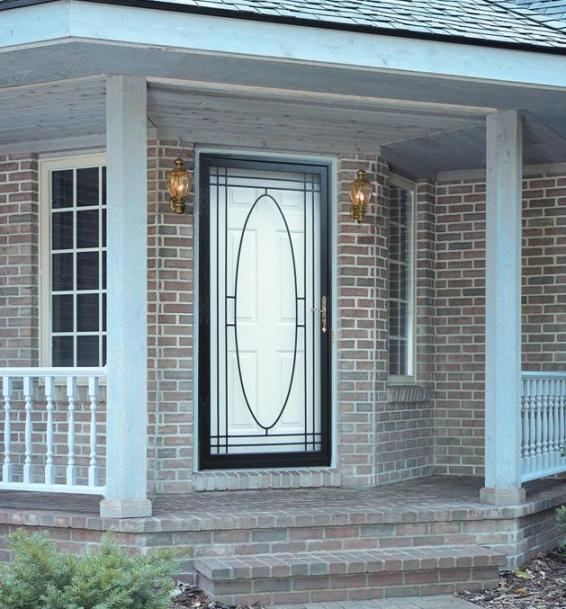 Security Storm Doors : Steel security storm doors philadelphia guida door window