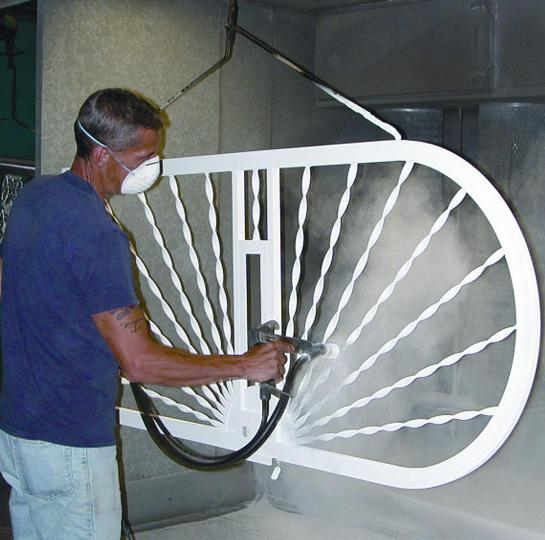 Polyester Powder-Coated Finish