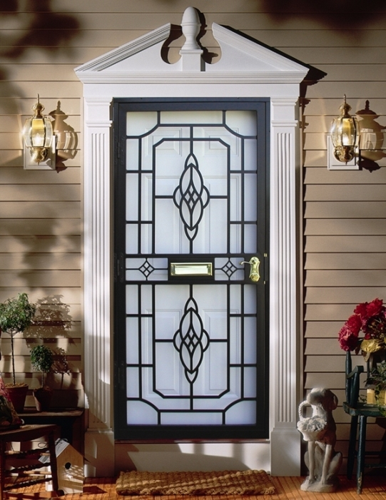 Steel Security Storm Doors Philadelphia | Guida Door & Window