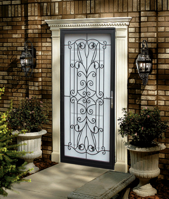 700 Series - Old World Iron & Steel Security Storm Doors Philadelphia | Guida Door \u0026 Window