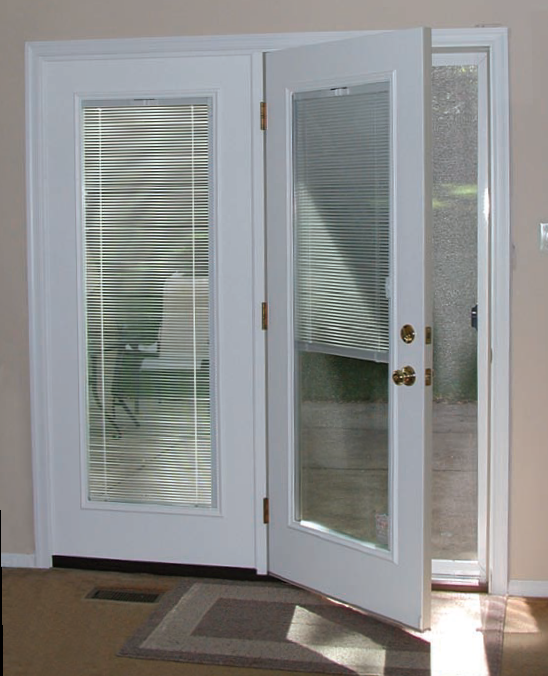 When to swinging patio doors